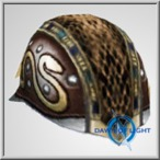TOA Stygia Studded Helm 1 (Alb)