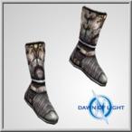 Aerus Chain Boots(Alb)