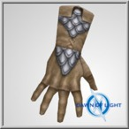 Celtic Scaled Worn Gloves