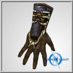 Possessed Albion leather gloves