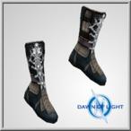 Poss Inconnu Hib cloth boots
