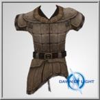 Patterned Leather Vest