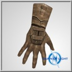 Patterned Leather Gloves