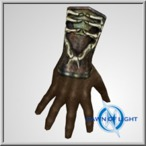 Possessed Albion cloth gloves