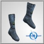 Oceanus Leather Boot Alb