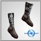 Poss Inconnu Mid studded boots