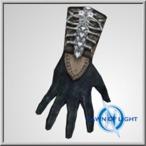 Possessed Shar Alb leather gloves