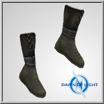 Researcher Cloth Boots Mid