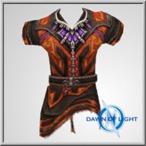 Volcanus Cloth Tunic Alb