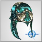 TOA Oceanus Plate Helm 3 (Alb)