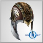 TOA Stygia Studded Helm 3 (Alb)