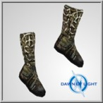 Possessed Albion cloth boots