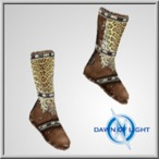 Stygia Leather Boots(Alb)