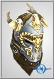 Mid Dragonslayer Stud Leather Full Helm