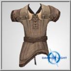 Celtic Leather Worn Vest