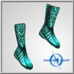 Oceanus Scale Boots(Alb)