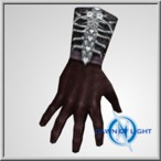 Possessed Inconnu leather gloves