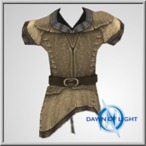Crude Leather Vest