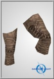 Celtic Leather Worn Legs