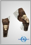 Stygia Leather Legs(Alb/Mid)